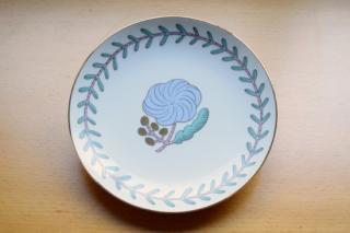 Dessert Plate Pivoine