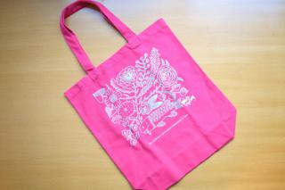 Tote Bag Fish (pink)