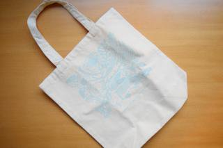 Tote Bag Fish (Unbleached)