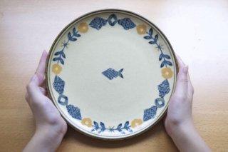 8寸皿 魚