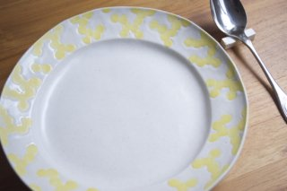 ミモザ リム皿 7寸