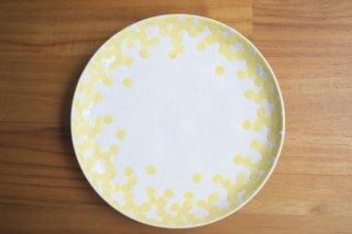 ミモザ 平皿 7寸