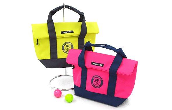 パーリーゲイツ PG Neonカラーフラップ風保冷カートバッグ
