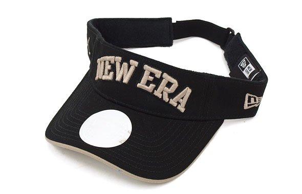 ニューエラ NE Frontロゴ定番系バイザー(ブラック)