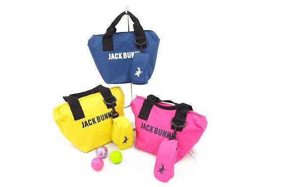 ジャックバニー JB ボールポーチ付★カートバッグ