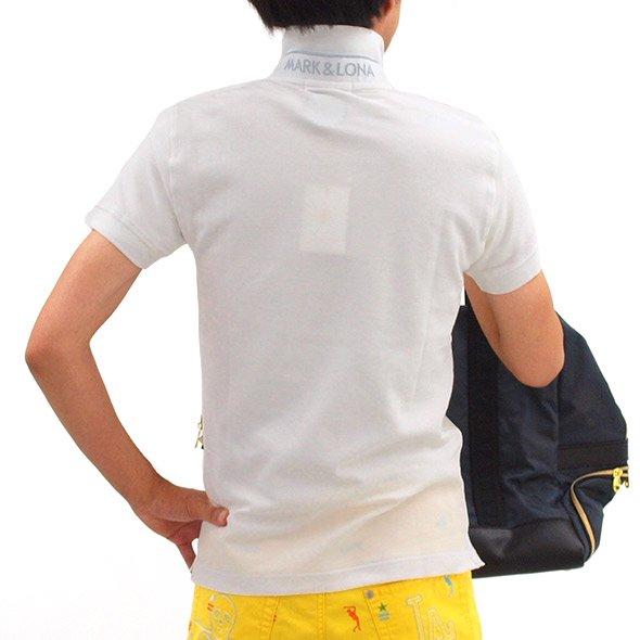 ML 定番ワンポイント二重衿ポロのコーディネート写真