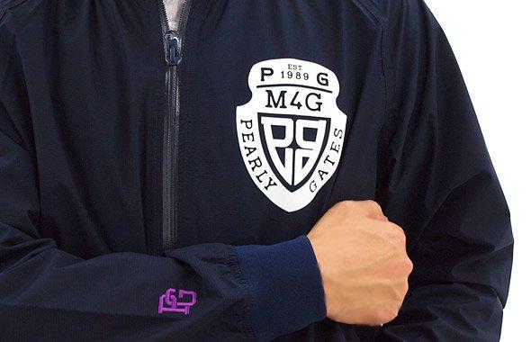 PG Pertexナイロン防風ブルゾンのコーディネート写真