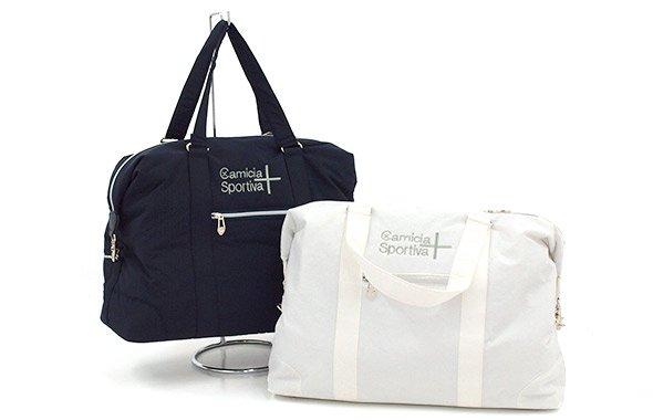 スツールズ ST 【CamiciaSportiva+】シャカ素材ボストンバッグ