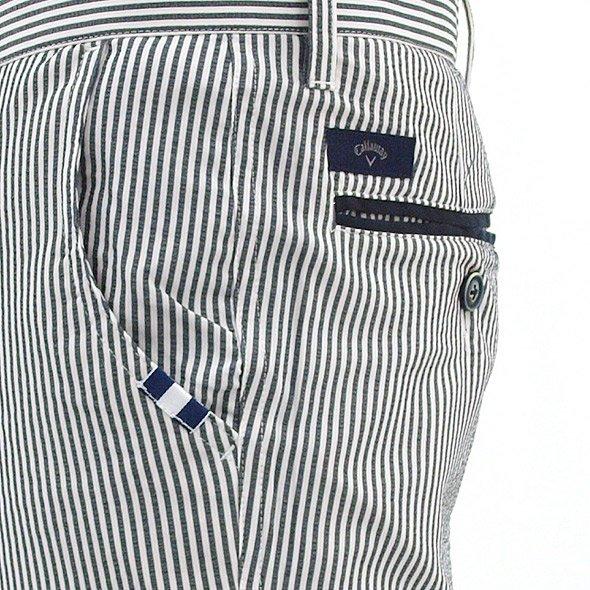 CA Flexskinストライプ軽量パンツのコーディネート写真
