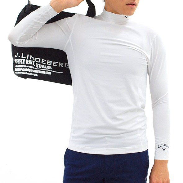 CA 定番◆スポーツハイネックインナーのコーディネート写真