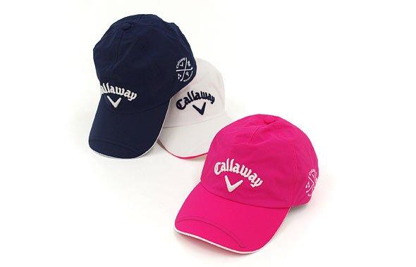 キャロウェイアパレル CA 定番◆裏メッシュレインキャップ