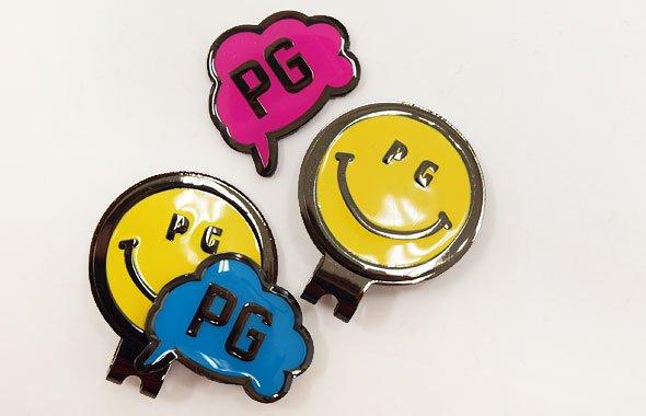 パーリーゲイツ PG SMILEベース♪吹き出しPGトップマーカー