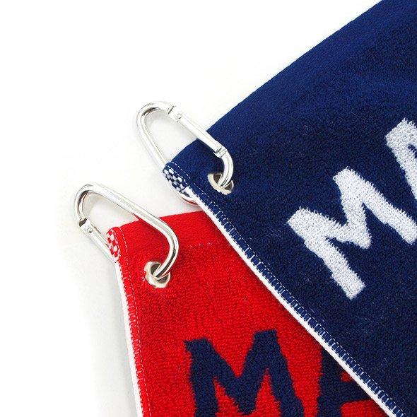 MB フック付★ロゴデザインタオルのコーディネート写真