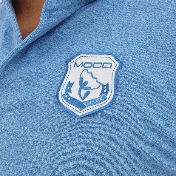 ST 【MOCO】ワッペンパイルポロのコーディネート写真