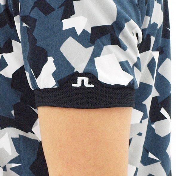 JL メッシュカラーさらさらポロのコーディネート写真