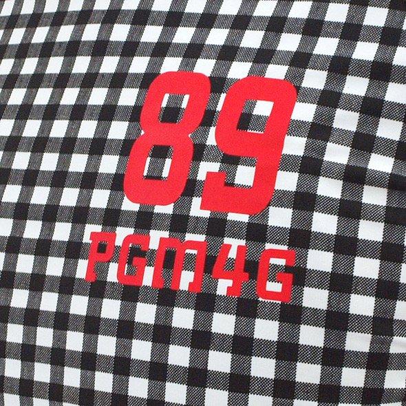 PG Beatrix冷感UVギンガム柄インナーのコーディネート写真