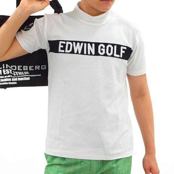 エドウィンゴルフ(EDWIN GOLF) EW 高機能◆ハイネック半袖カットソー