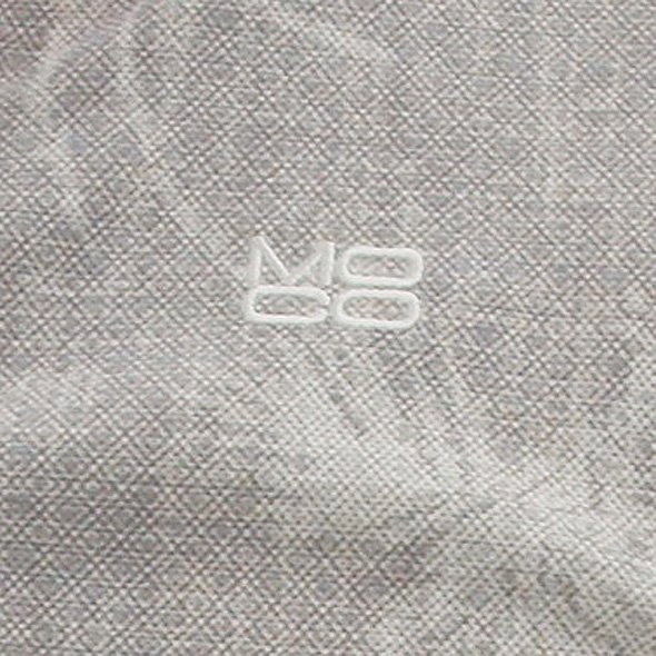 ST ボタニカル柄スキッパーポロのコーディネート写真