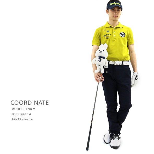 JB 2ライン◆ドビーストレッチパンツのコーディネート写真