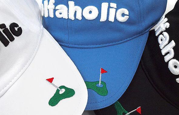 JB golfaholic刺繍ベーシックキャップのコーディネート写真