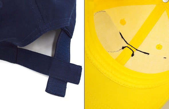 VI Fakeサングラス刺繍キャップのコーディネート写真