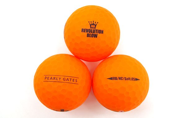 MB Neon★マットカラーボール(オレンジ)のコーディネート写真