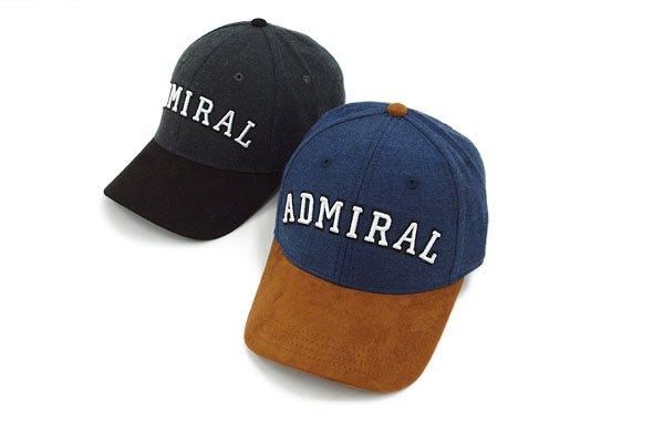 アドミラルゴルフ ヘッドウェア AM 異素材◆切替キャップ