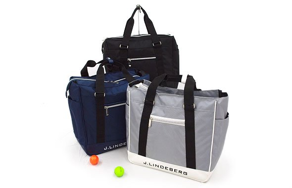 J.LINDEBERG JL シューズ袋付◆軽量ボストン