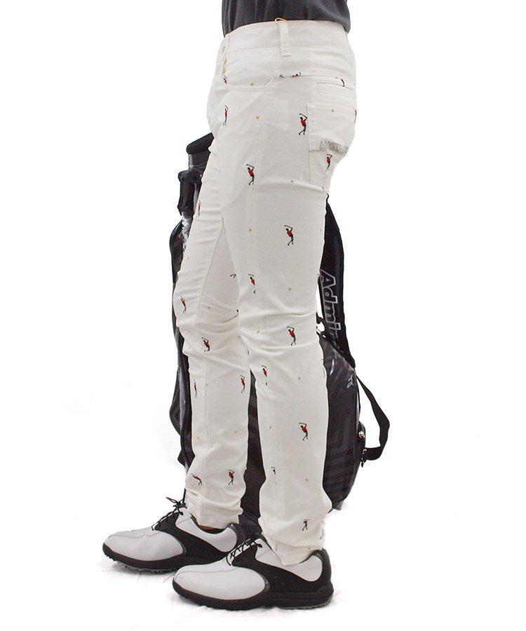 ML swingスカル刺繍パンツのコーディネート写真