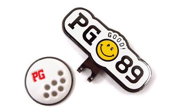 パーリーゲイツ マーカー PG 立体Ball型トップマーカー