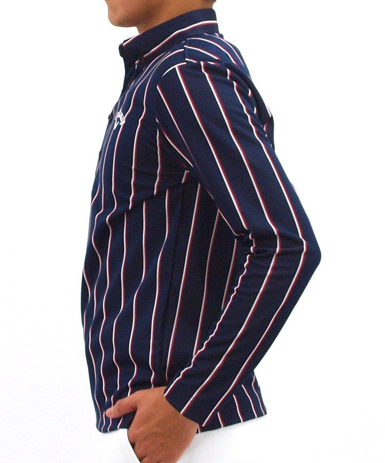CA WARM■レジメンタルストライプシャツのコーディネート写真