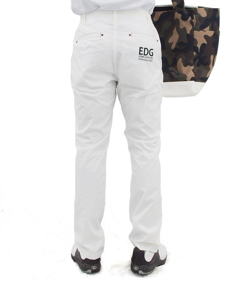 EW シャカ素材レギュラーテーパード_ホワイトのコーディネート写真