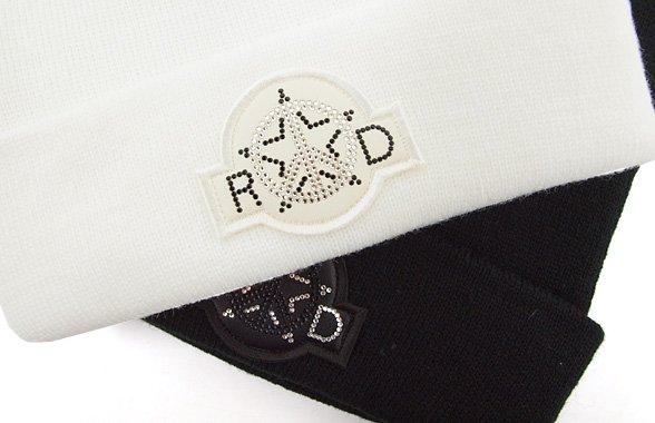 ロックデュード RD PEACE★ストーンワッペンニットキャップ
