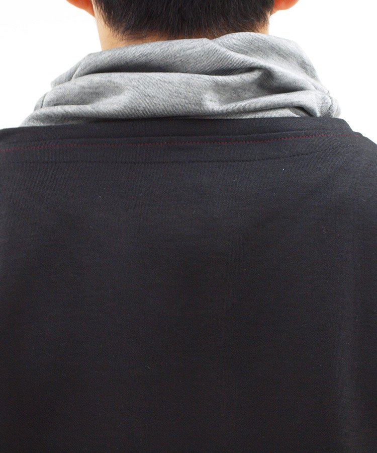 RD フェイクVネックセーターのコーディネート写真