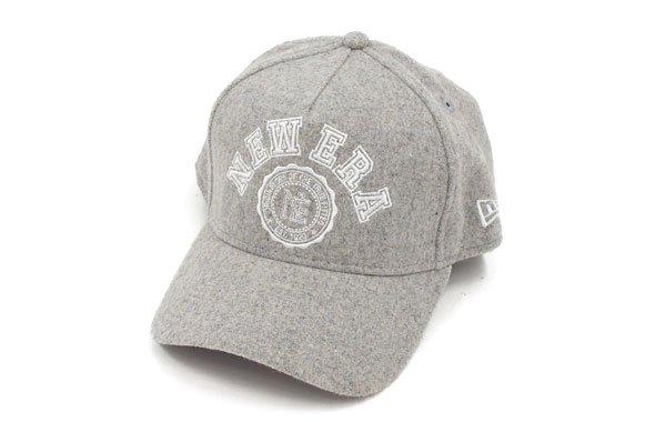 ニューエラ NE Frontロゴ刺繍メルトンキャップ