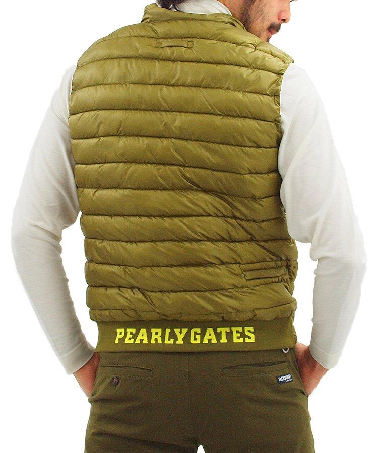 パーリーゲイツ ダウン・中綿ベスト PG サーモライト■軽くてあったか中綿ベスト