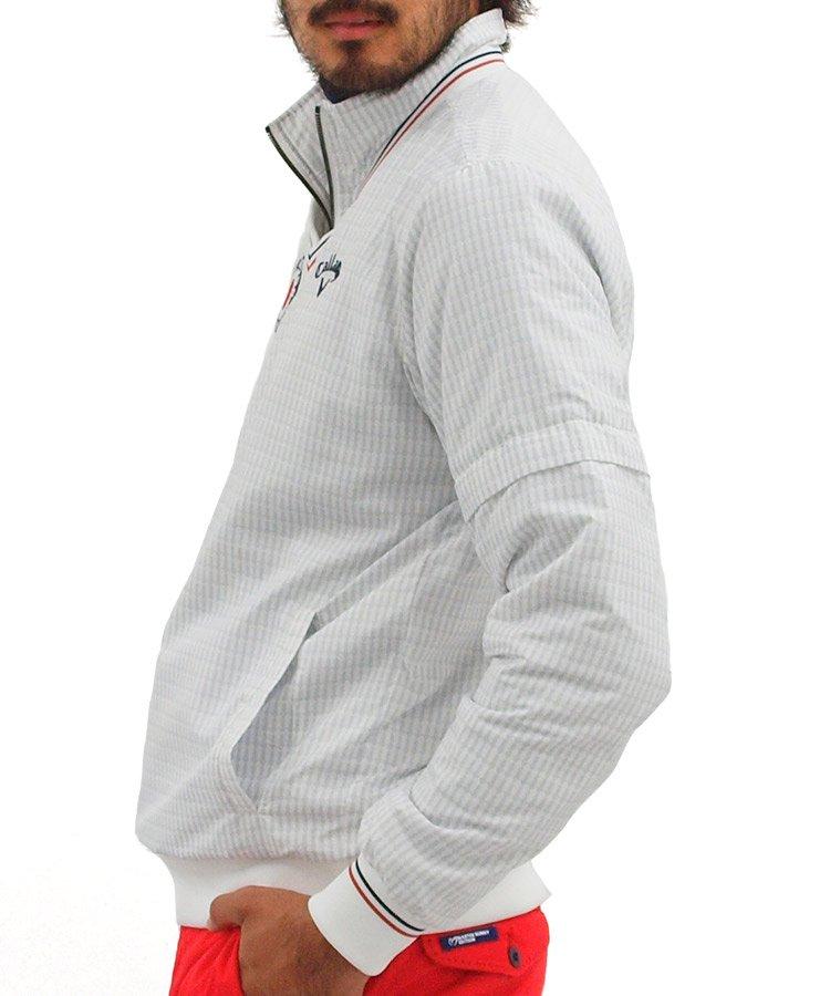 CA 4WAY♪アロー柄中綿スニードジャケットのコーディネート写真
