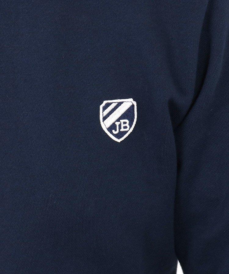 JB ニット×スウェット切替プルオーバーのコーディネート写真