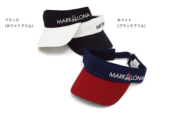 マーク&ロナ ヘッドウェア ML 配色◆つば裏カモフラバイザー