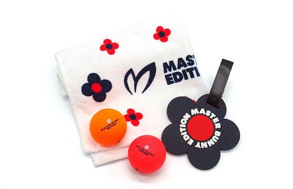 マスターバニー MB Golfツール3点セット☆Giftパック(ピンク)
