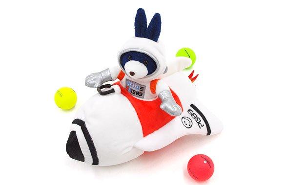 パーリーゲイツ バッグ&ポーチ PG Bunny飛行士★ロケット型ボールポーチ