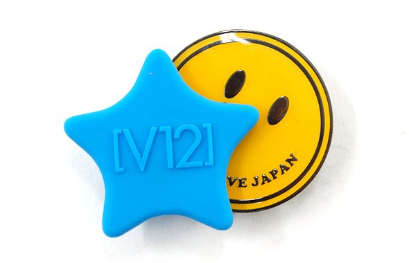 ヴィトゥエルブ VI Smile&Star★シリコントップマーカー(ブルー)