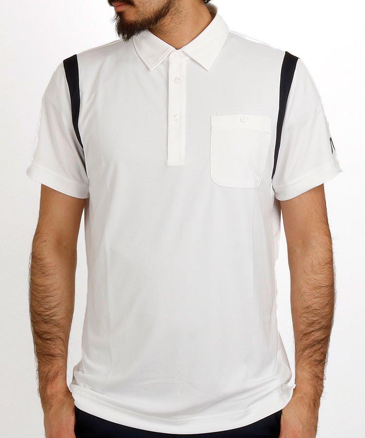J.LINDEBERG 半袖ポロシャツ・シャツ JL ショルダーラインさらさらポロ