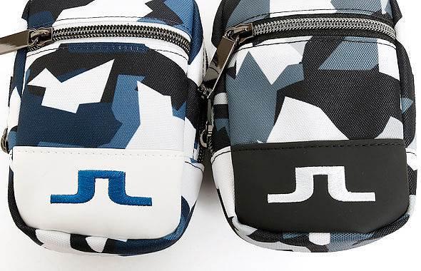 JL ジオメトリー柄ベルトループ付ボールポーチのコーディネート写真