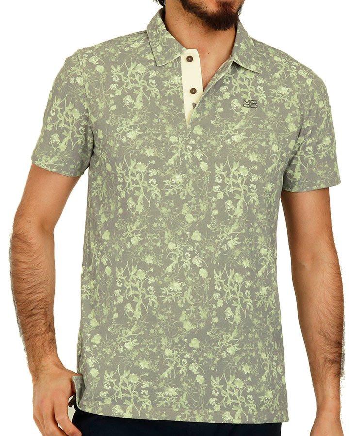 スツールズ 半袖ポロシャツ・シャツ ST ツートンフラワーポロ