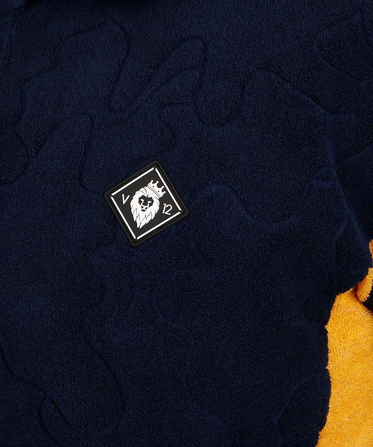 VI パイルカモフラポロのコーディネート写真