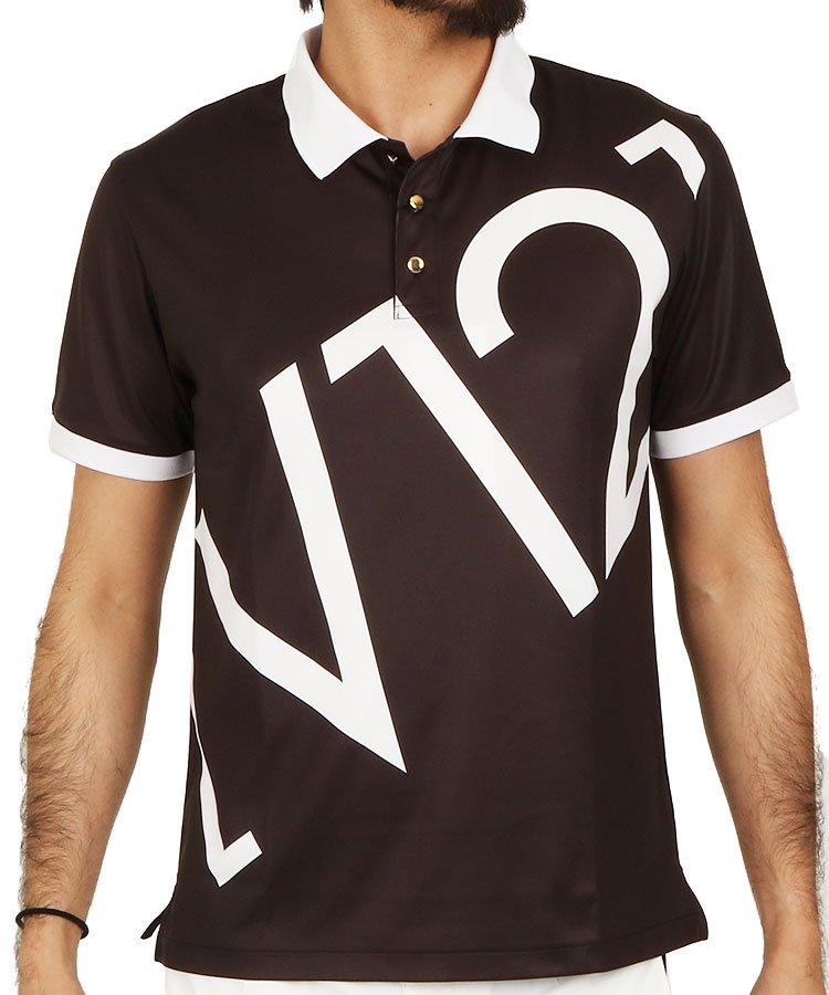 ヴィトウェルヴ 半袖ポロシャツ・シャツ VI BIG「V12」さらさらポロ
