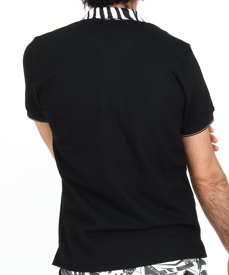 ML 【BLACKBOX】メッシュポケットポロのコーディネート写真