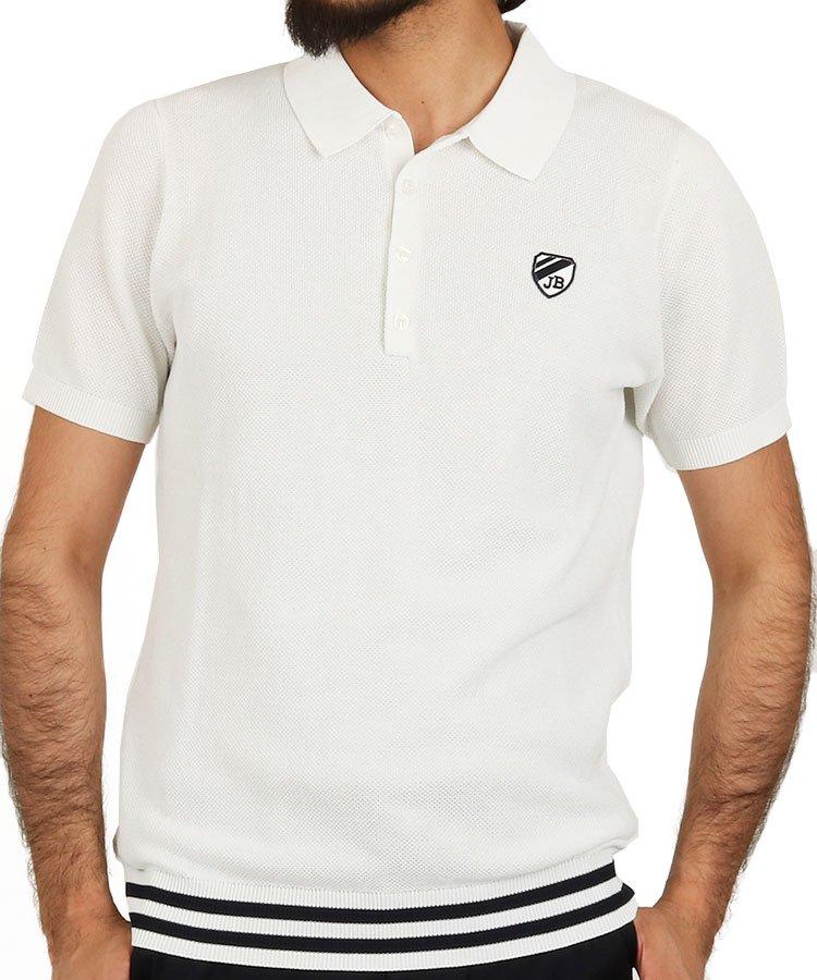 ジャックバニー 半袖ポロシャツ・シャツ JB Iceコットン裾リブポロ