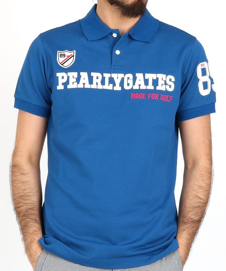 パーリーゲイツ 半袖ポロシャツ・シャツ PG 定番フロントロゴポロ